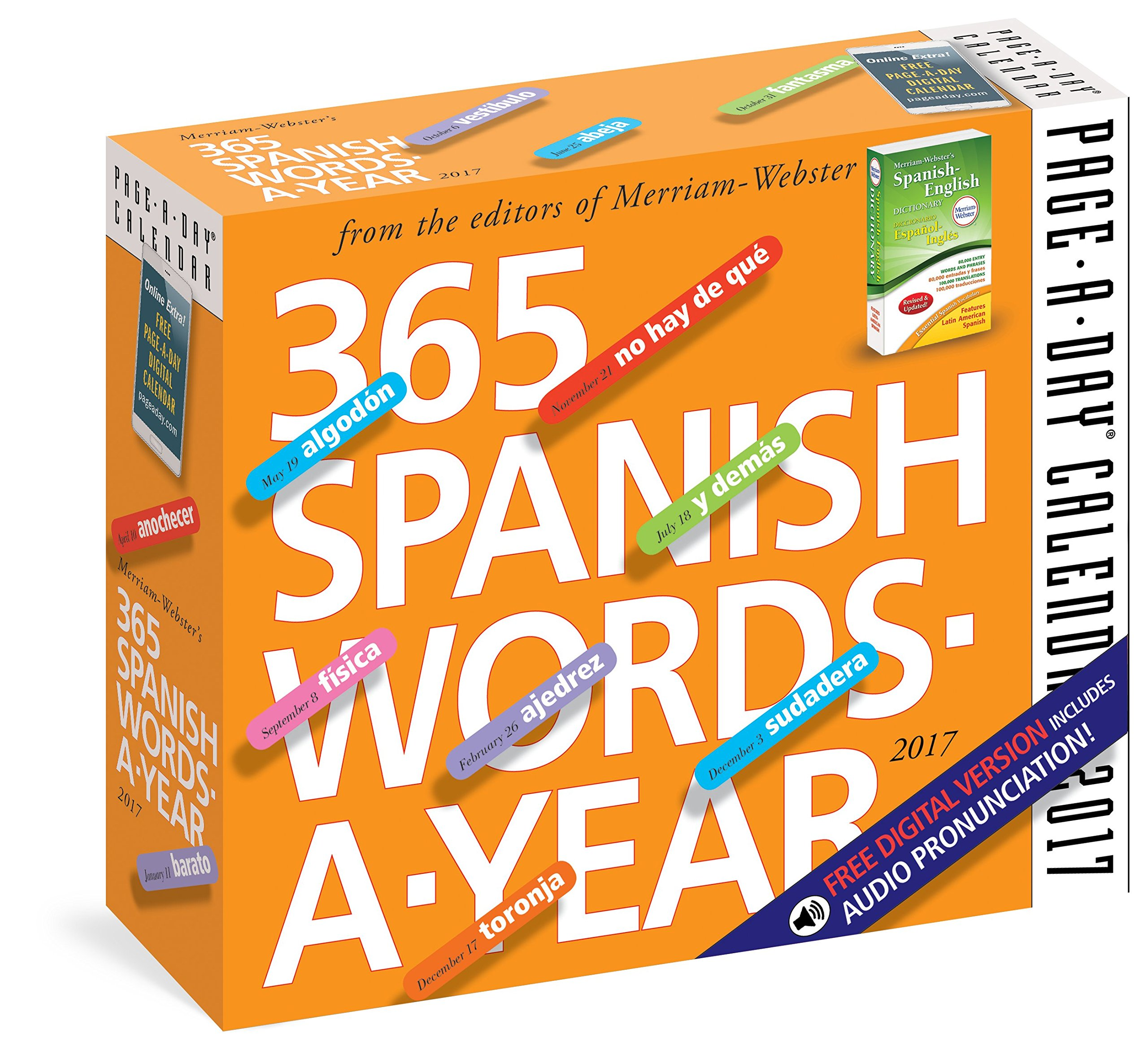 365 Spanish Words A Year Page A Day Calendar