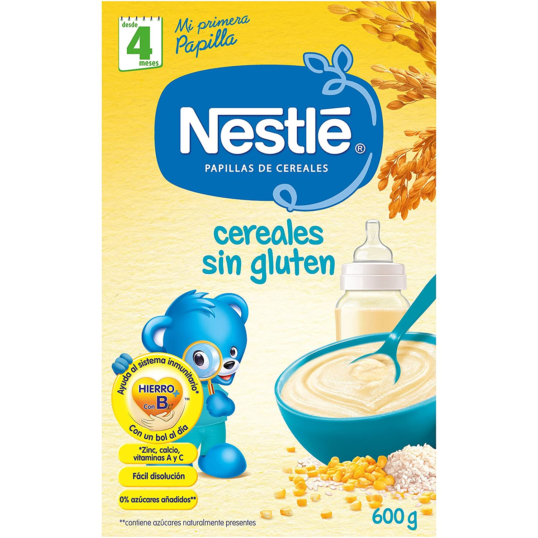 Nestlé - Papillas Cereales Sin gluten A Partir De 4 Meses 600 g: Amazon.es: Alimentación y bebidas