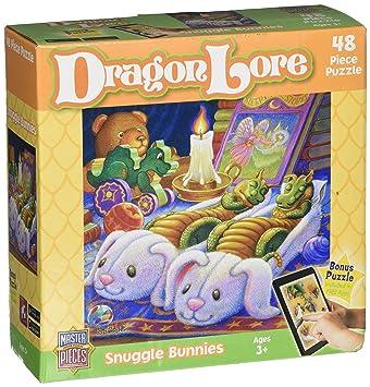 Lore Carcasa Obras Maestras Bunnies Valor Dragon Jigsaw Snuggle jqSMVUzGpL