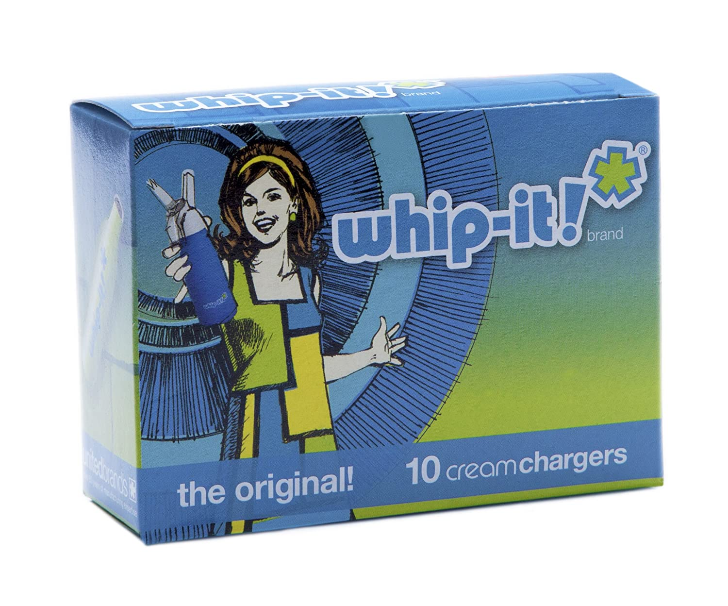 Whip-it! 50 Pack Whipped Cream Chargers