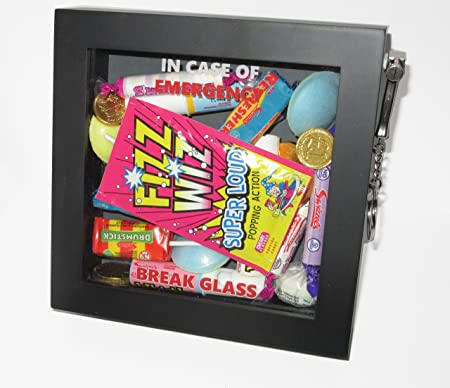 16th 18th 21st Birthday Present Emergency Gift Box Fun Novelty Presentation 3d Frame Keepsake