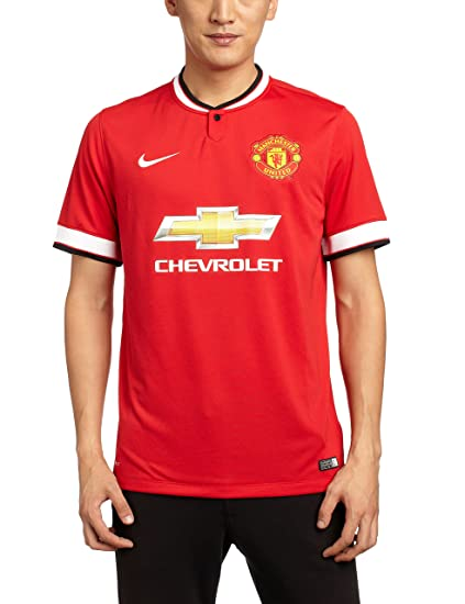 cheaper 9b584 07840 Nike 2014-15 Man Utd Home Football Shirt