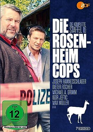Die Rosenheim Cops Die Komplette Sechzehnte Staffel 7 Dvds Amazon