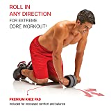 Ab Roller Extreme Wheel with Knee Pad - Abdominal