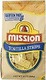 Mission Tortilla Chips, Strips, 13 oz
