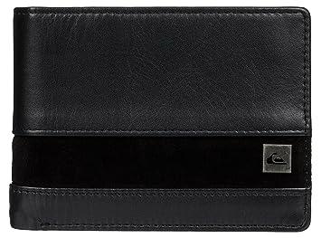 Quiksilver Monedero Classical Wallet Negro Gris Antracita ...