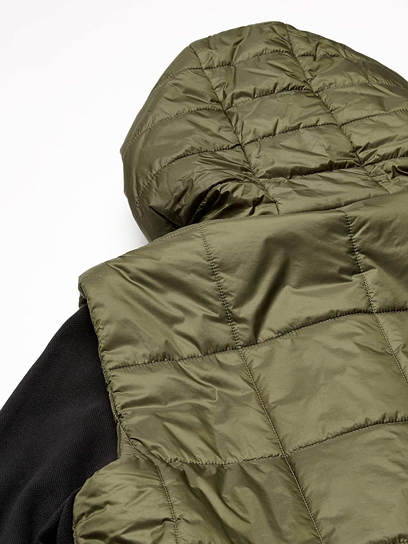 Lacoste Mens Sport Long Sleeve Reversible Cargo Pocket Short Parka Jacket