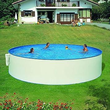 Sehr Pool Stahlwand Weiss: Amazon.de: Garten YQ21