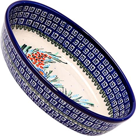 Pottery & Glass Pottery & China Polish Pottery Boleslawiec Oval Bowl New Latest Technology