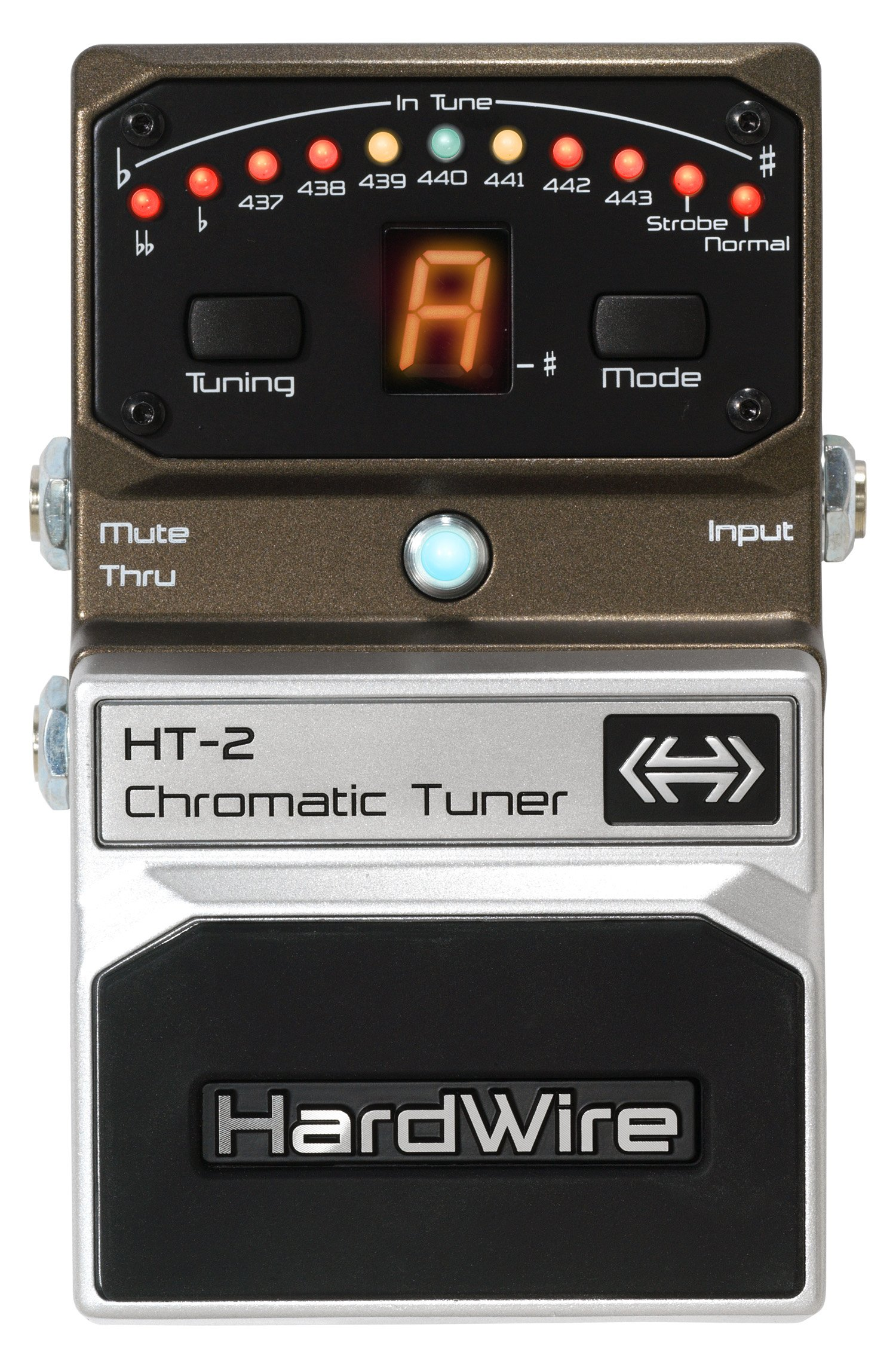 DigiTech HT-2 HardWire Chromatic-Tuner Extreme-Performance Pedal