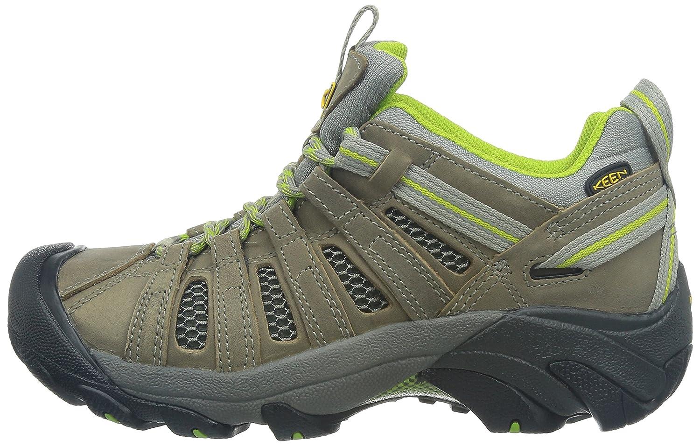 Keen Damen Voyageur Trailrunning Schuhe, EUR: 36 EUR, Neutral Gray/Lime Green