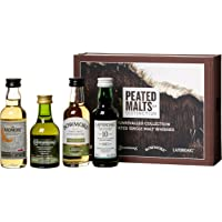 Peated Malts Of Distinction - Coffret De 4 Irish Whiskey Et Ecossais (4 X 0.2L)