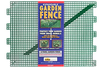Amazoncom Crafted Products 300 Garden Fence Kit Patio Lawn