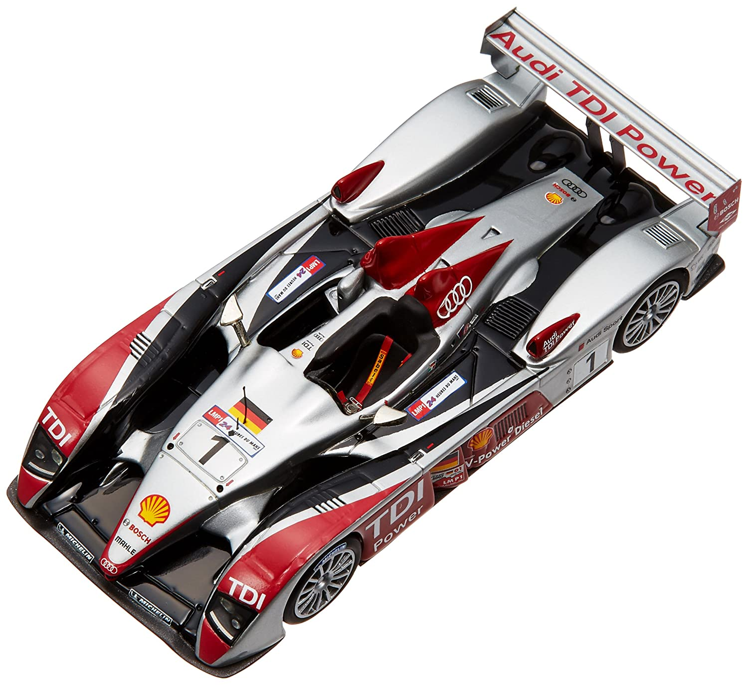 LOOKSMART DLM1/43 Audi R10 (2007 Le Mans Winner) Limited 299 (japan import)
