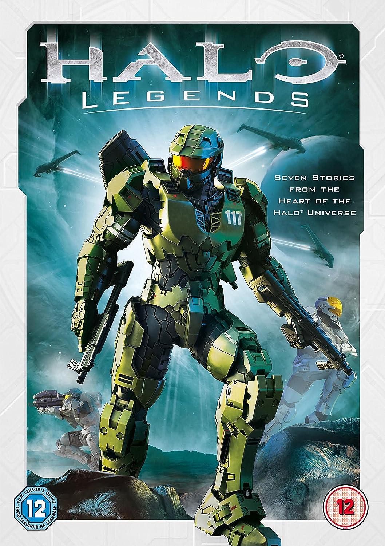 Amazon Com Halo Legends Dvd 2010 Movies Tv