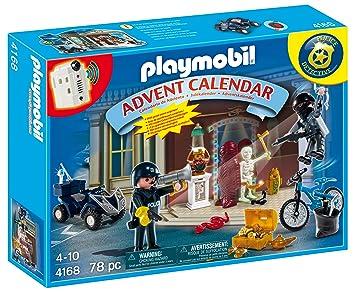 4168 Policier Playmobil Et D Voleur L'avent Calendrier De DHEI29