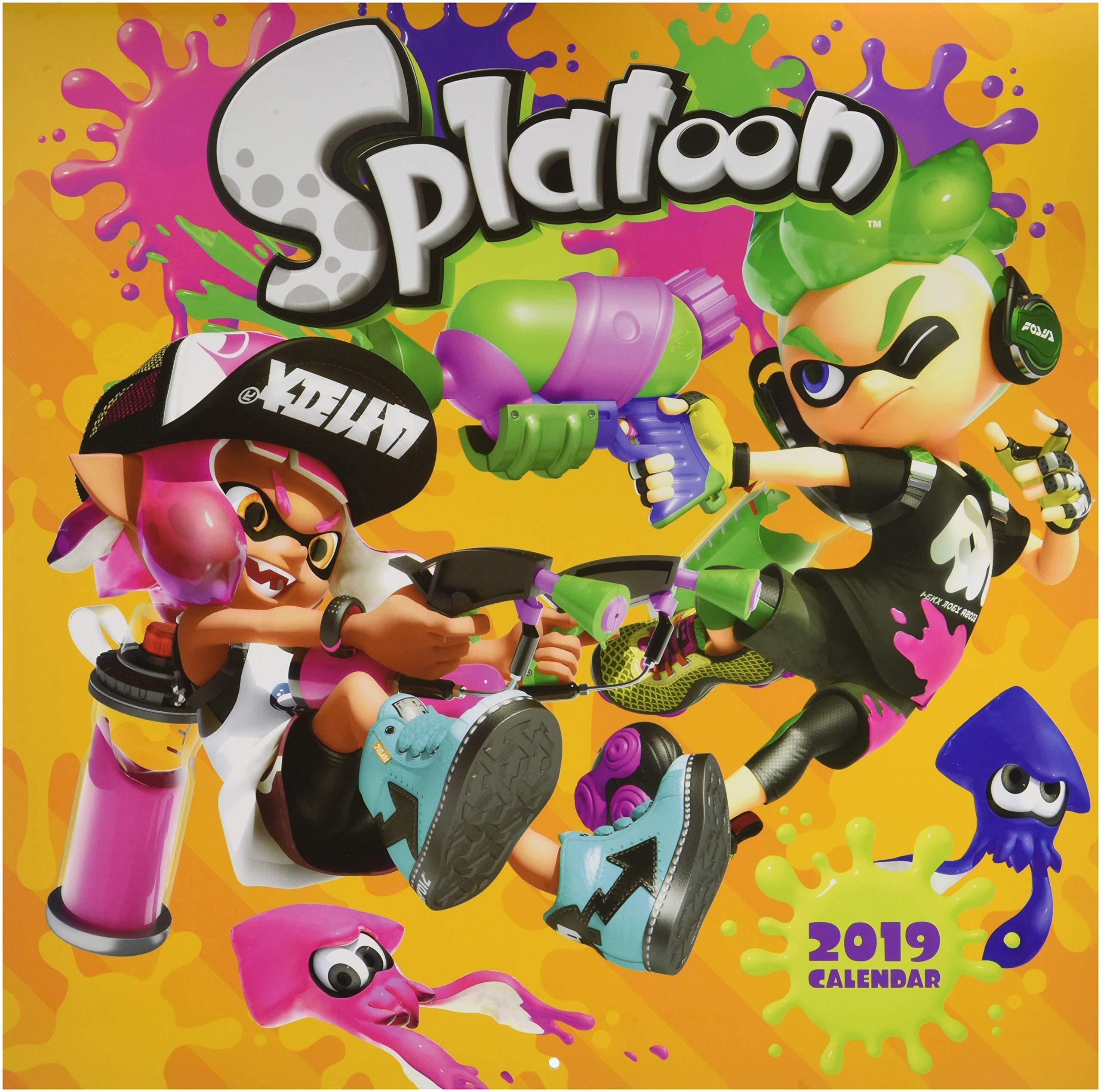 Splatoon 2019 Wall Calendar: Nintendo: 9781419731013: Amazon ...