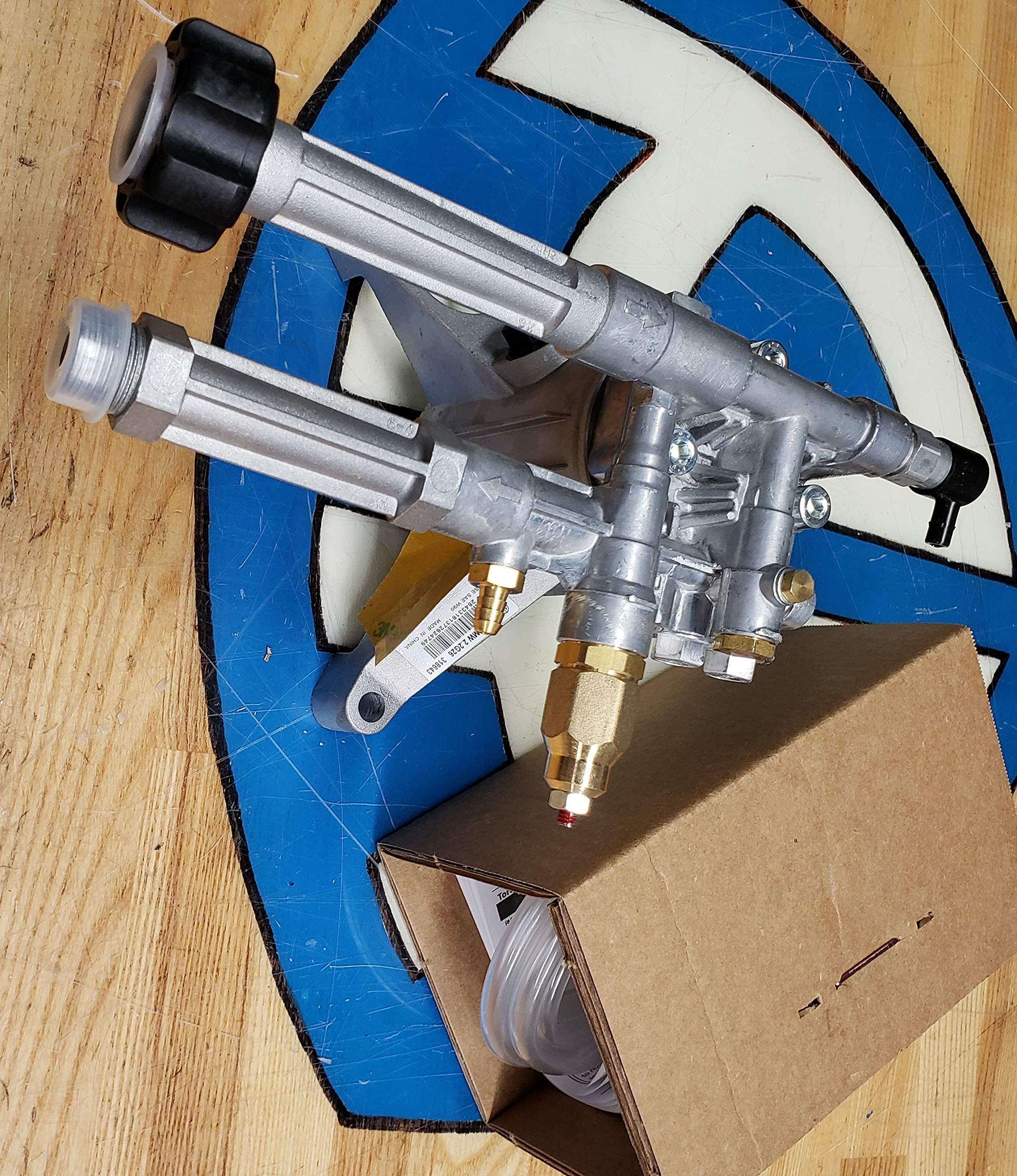 Annovi Reverberi SRMW22G26-SX AR Rotated Shaft Pump Kit, Detergent Tube with Filter, Natural