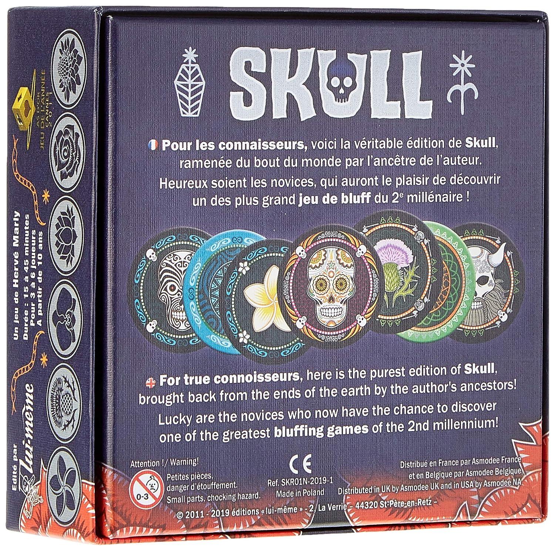 Lui meme Skull and Roses: Skull