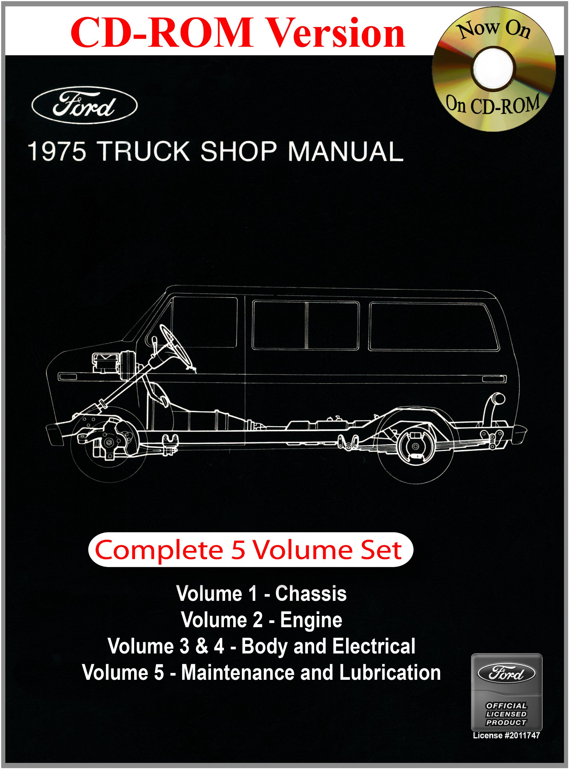 1975 ford f 150 wiring diagrams 1975 ford truck shop manual ford motor company  david e leblanc  1975 ford truck shop manual ford motor