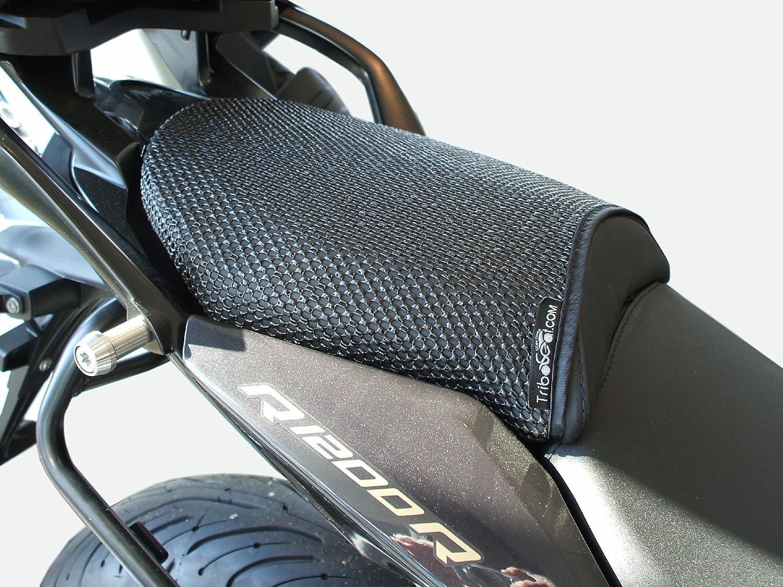 BMW R1200R (2015-2018) TRIBOSEAT COPRISELLA PASSEGGERO ANTISCIVOLO NERO ADVANCED SEATING TECHNOLOGY LIMITED