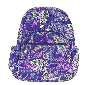 d065374c15f Amazon.com   Vera Bradley Essential Backpack Batik Leaves   Casual Daypacks