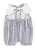 NOMSOCR Infant Baby Girls Short Sleeve One-Pieces