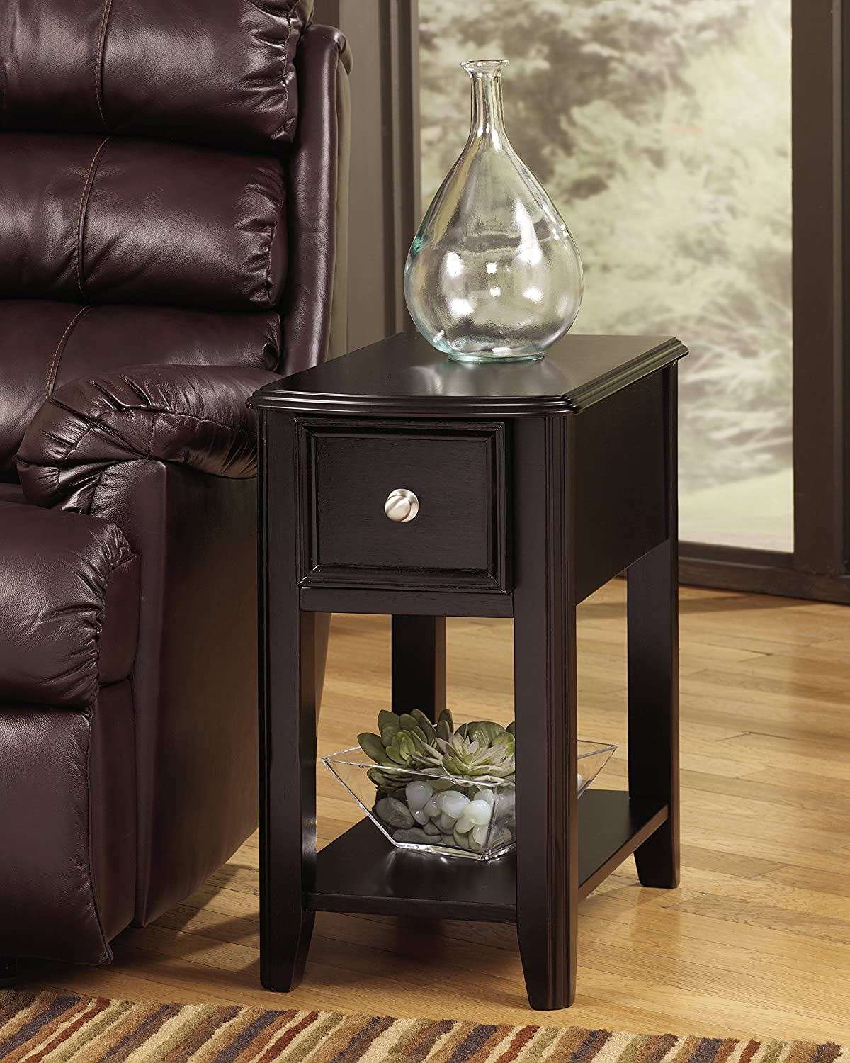 Breegin Chair Side End Table D...