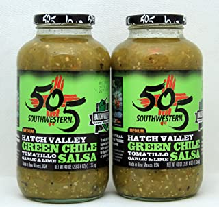 product image for 505 Southwestern Hatch Valley Green Chile Salsa Party Pack (2- 40 OZ )