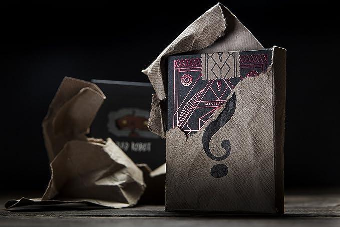 Caja misteriosa Jugando Cartas (Rojo) de JJ Abrams: Amazon.es: Deportes y aire libre