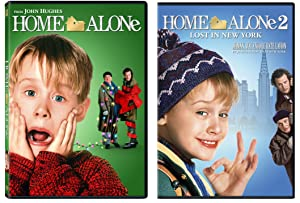 Home Alone 1 & Home Alone 2: Lost in New York 2-DVD Christmas Bundle