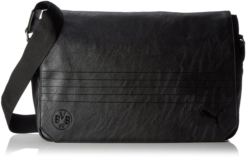 Puma BVB Borussia Dortmund Shoulder Bag Sac bandoulière Noir Puma Black 27 4x 11 6x 28cm