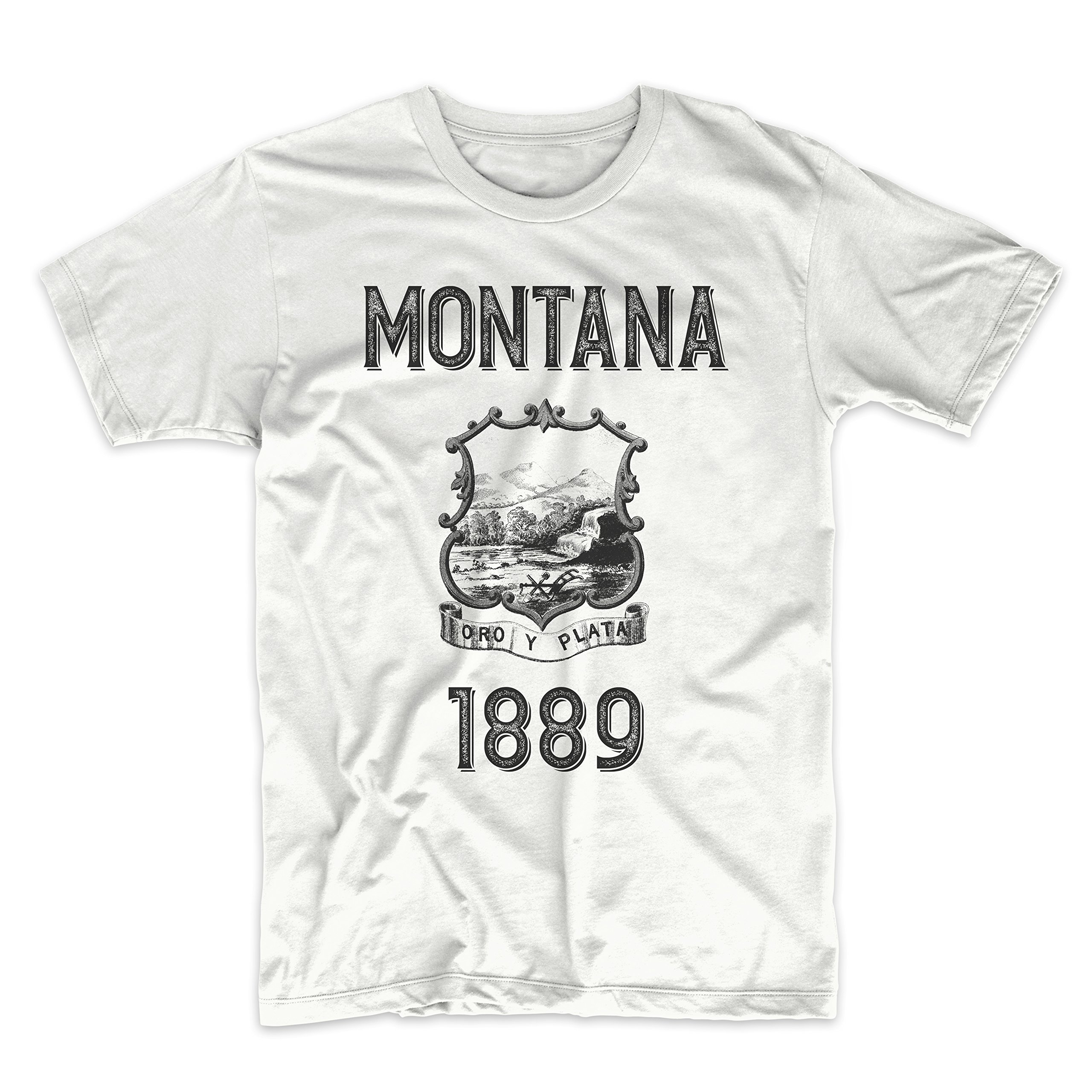 PatentPrints Montana Coat of Arms T Shirt