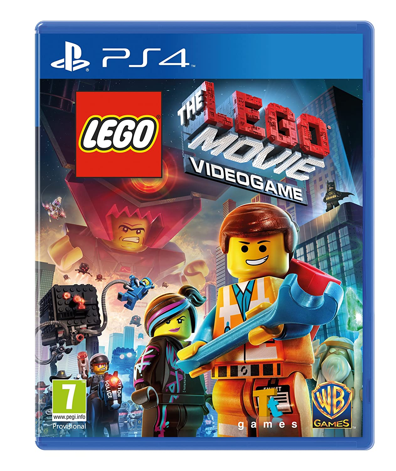 Amazon Com The Lego Movie Videogame Ps4 Video Games