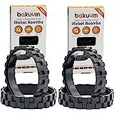 EPIEZA 2 paquetes de 2 neumáticos. Ruedas para IROBOT ROOMBA Series 500, 600, 700, 800 y 900. Contiene 4 neumáticos. Recambio