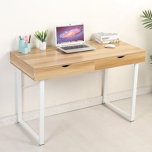 Mr IRONSTONE® – Mesa de ordenador moderna, escritorio, estación de ...