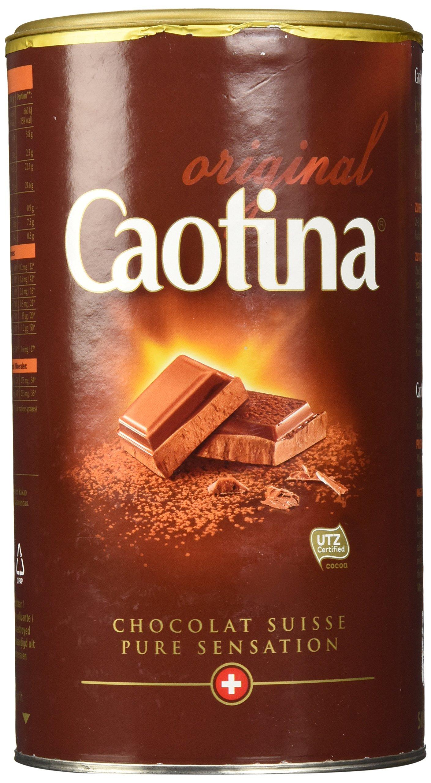 how to make caotina hot chocolate