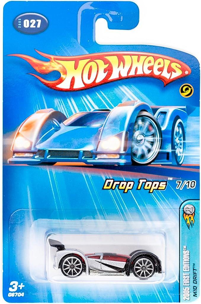 2005 Hot Wheels First Edition Mid Drift 7//10 10 Spoke Hub Wheels