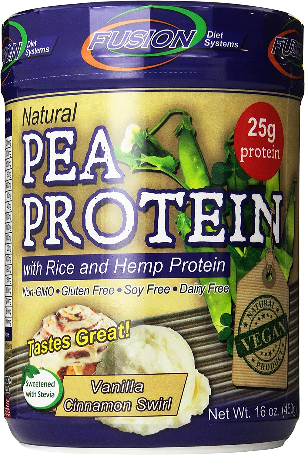 fusion diet systems natural pea protein