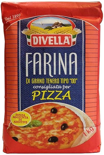 Divella Mehl 00 Weich Weizen Für Pizza Und Nudel 1 Kg Amazonde