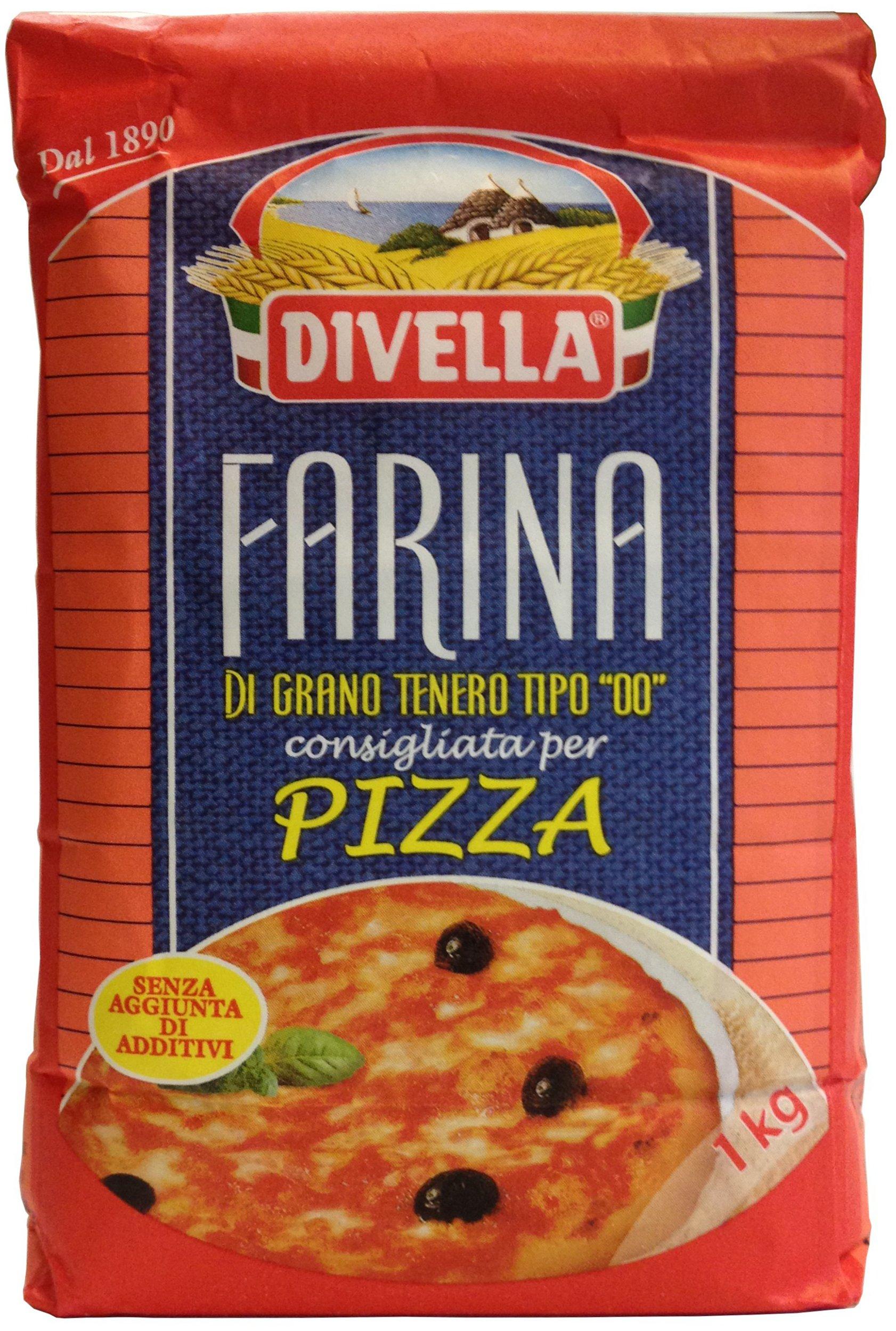 """Divella farina di grano tenero tipo """"00"""" per pizza kg 1 (082654)"""