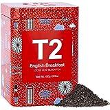 T2 Tea English Breakfast Black Tea, Loose Leaf Black Tea in Icon Tin, 100 g