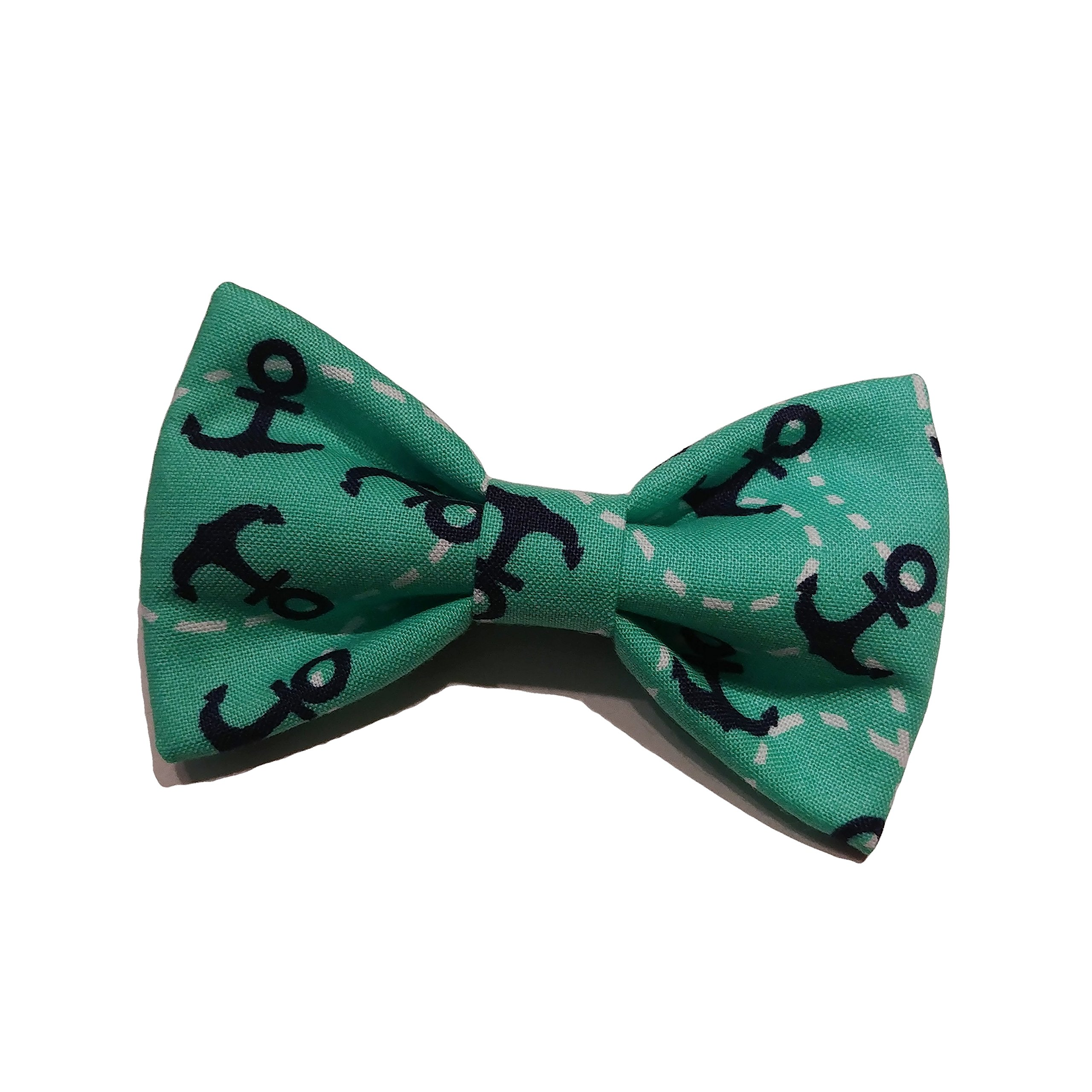 Anchors - Small Dog Bow Tie - Cat Bowtie