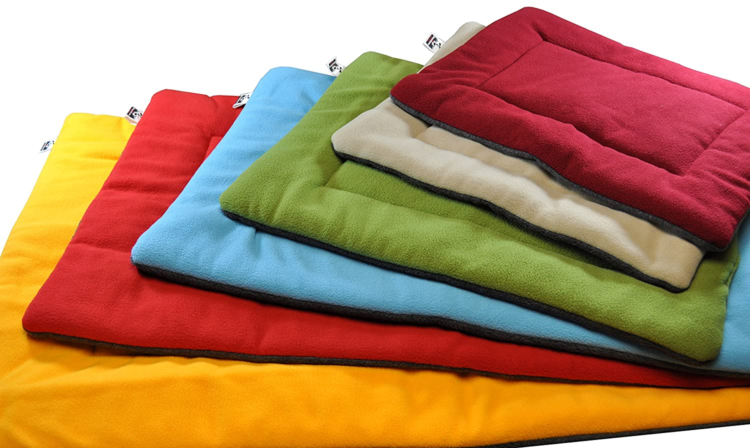Comfort Pet Dog Crate Mat and Nap Pad, Bed (Blue, Red, Maroon, Green, Tan, Fiesta - X-Large, Large, Medium, Small, X-Small), by Downtown Pet Supply