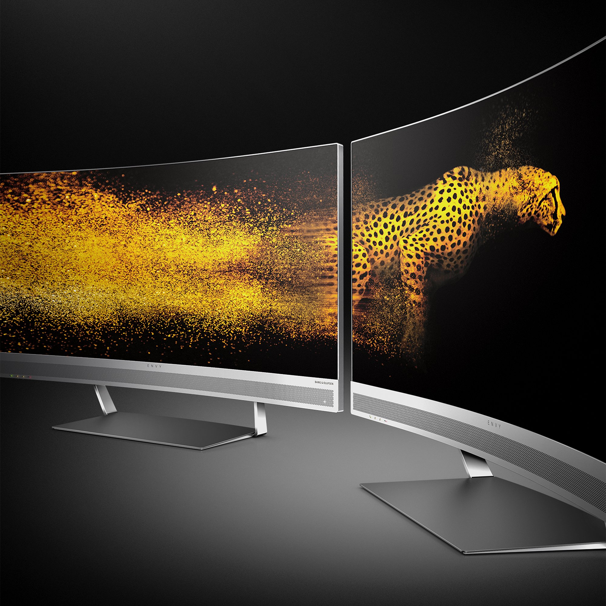 HP ENVY 34-inch Ultra WQHD Curved Monitor with AMD Freesync Technology, Webcam and Audio by Bang & Olufsen (Black/Silver) by HP (Image #10)