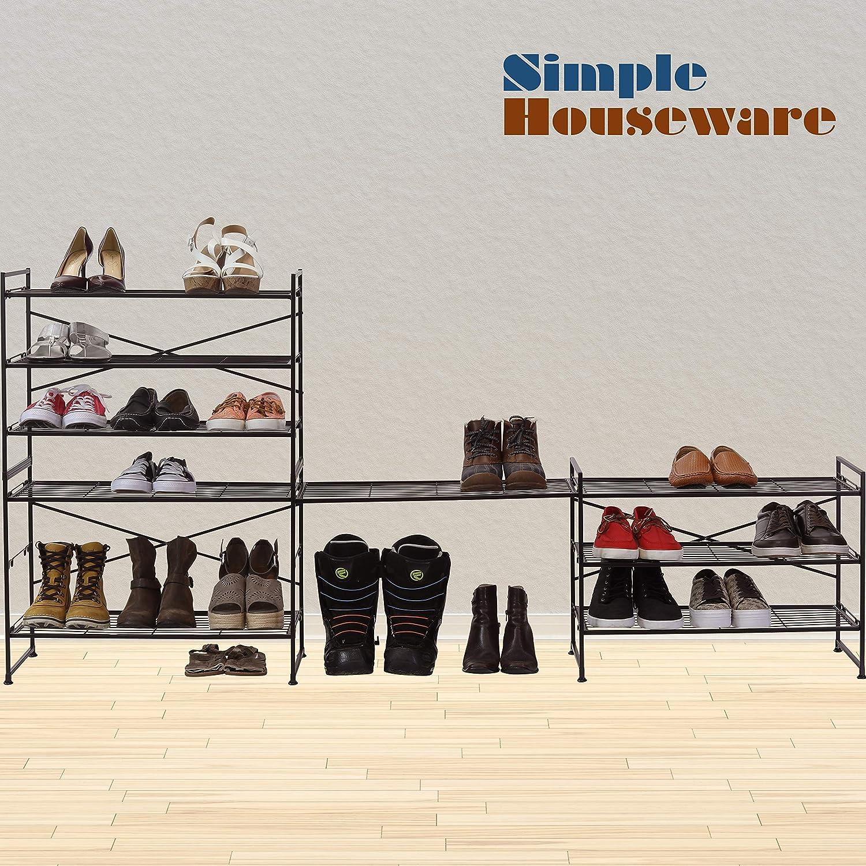 Amazon.com: Simple Houseware - Zapatero apilable, color ...