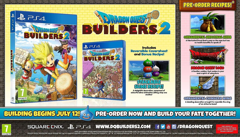 Dragon Quest Builders 2 (PS4): Amazon co uk: PC & Video Games