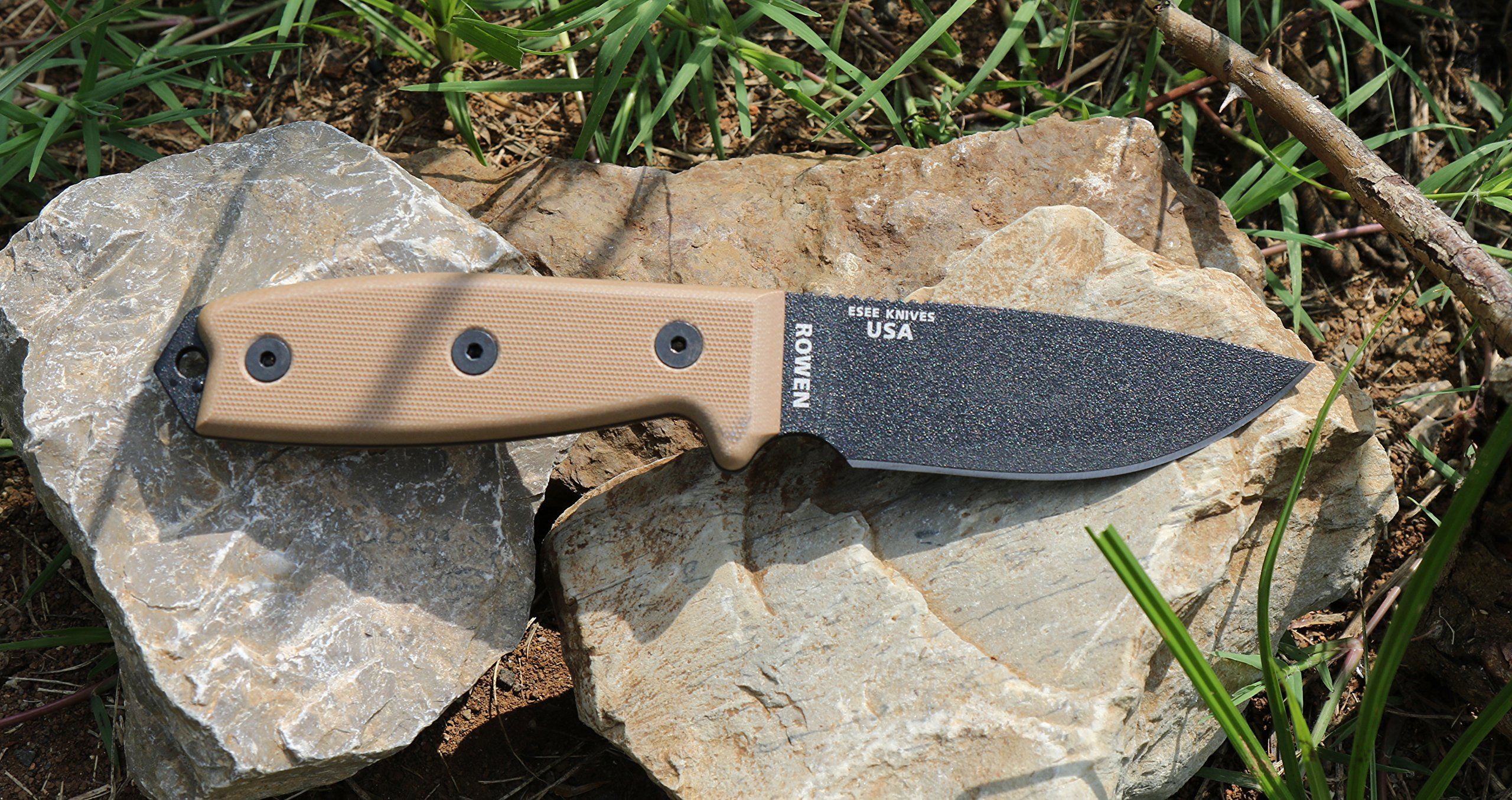 ESEE Knives 3P Fixed Blade Knife with Molded Polymer Sheath by ESEE (Image #2)