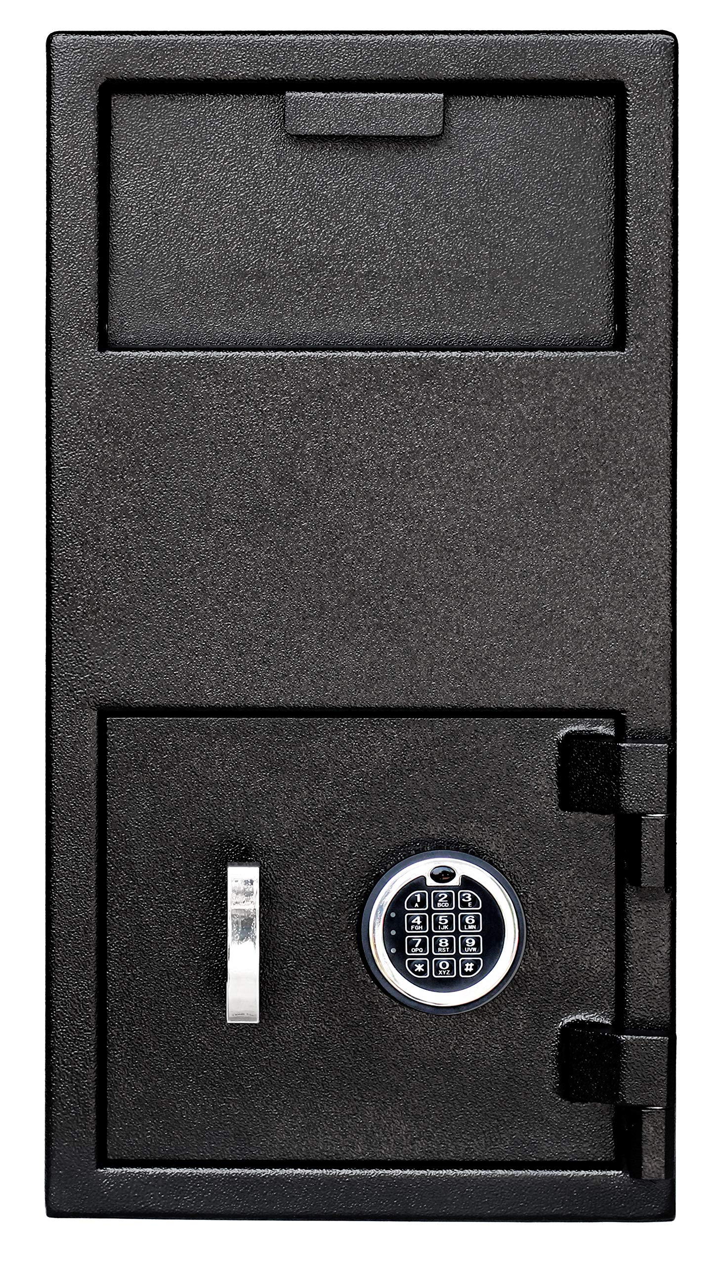 Templeton Large Depository Safe - Electronic Keypad Combination with Key Backup