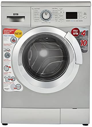 IFB 6 5 kg Fully-Automatic Front Loading Washing Machine (Senorita Aqua SX  , Silver)
